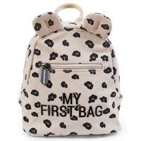 CHILDHOME Kinderrugzak My First Bag luipaardmotief canvas