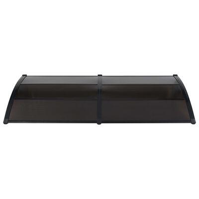 vidaXL Deurluifel 240x100 cm PC zwart