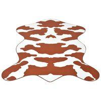 vidaXL Vloerkleed 110x150 cm bruin koeienprint