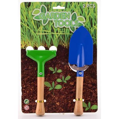Johntoy tuingereedschap Garden Tools 2-delig