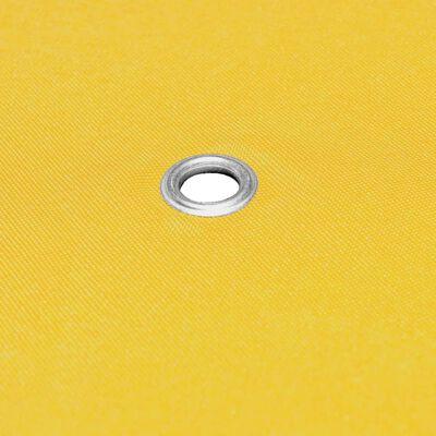 vidaXL Prieeldak 270 g/m² 3x3 m geel