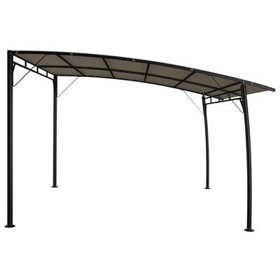 vidaXL Zonneluifel 3x3x2,55 m taupe