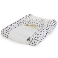 CHILDHOME Aankleedkussenhoes Angel jersey luipaardprint