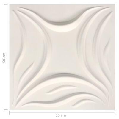 vidaXL 24 st Wandpanelen 3D 6 m² 0,5x0,5 m,
