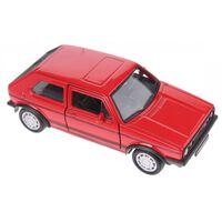 Welly schaalmodel Volkswagen Golf I GTI rood