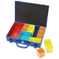 Draper Tools 11-delige Organizer met vakken 32,9x22,5x6,5 cm blauw