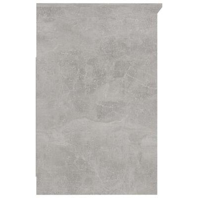 vidaXL Ladekast 40x50x76 cm spaanplaat betongrijs