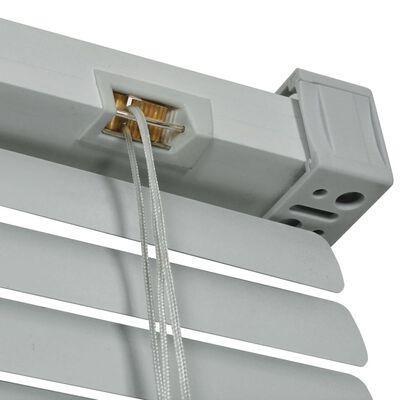 vidaXL Zonwering aluminium 100x160 cm zilverkleurig