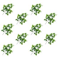 vidaXL Kunstbladeren druif 10 st 70 cm groen