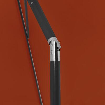 vidaXL Strandparasol 180x120 cm terracottakleurig