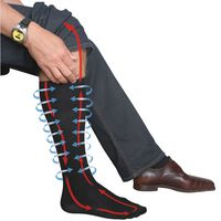 TravelSafe compressie sokken maat M (39-42) TS0370M