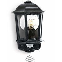 Steinel Buitenlamp met sensor L 190 zwart