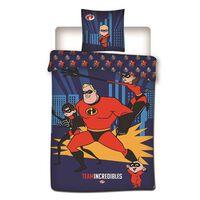 Disney Incredibles dekbedovertrek - 100% microvezel - 1-persoons