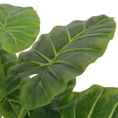 vidaXL Kunst taro plant met pot 70 cm groen