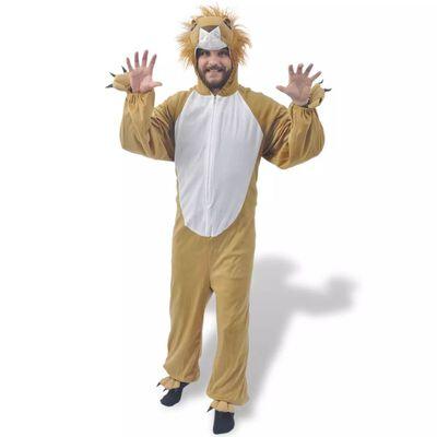 vidaXL Carnavalskostuum leeuw M-L