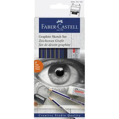 Faber Castell Grafietset Faber-Castell Goldfaber 8-delig