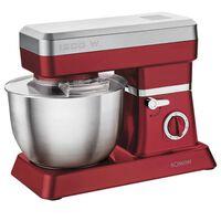Bomann Keukenmachine 1200 W rood en zilver KM 398 CB