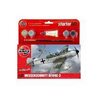 Airfix - S  Starter Set - Messerschmitt Bf109e-3 - Model Speelgoed