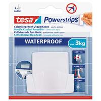 1x Tesa Powerstrips duohaken waterproof - Klusbenodigdheden -