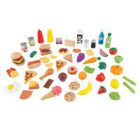 KidKraft 65-delige Voedselset