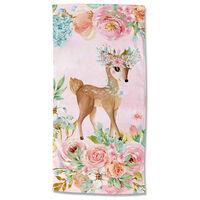 Good Morning Strandlaken SWEET 75x150 cm roze