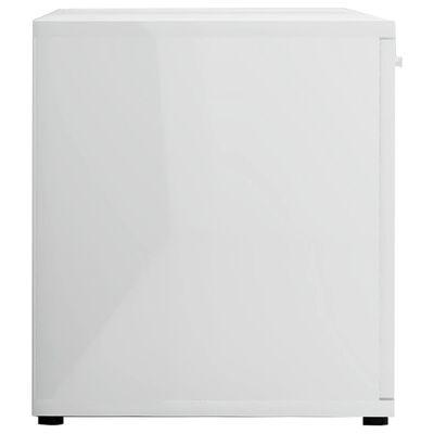vidaXL Tv-meubel 120x34x37 cm spaanplaat hoogglans wit
