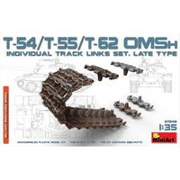 Miniart - T-54/t-55/t-62 Omsh Individual Track Links - Model Speelgoed