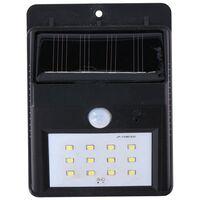 Grundig solar wandlamp - met sensor - voor buiten - 20 lm