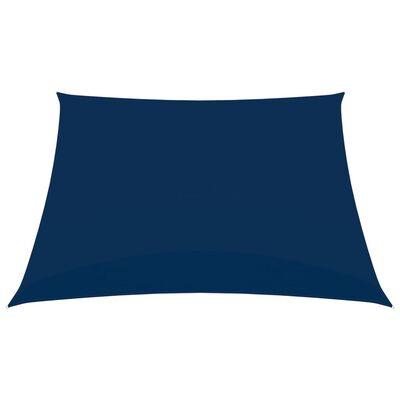 vidaXL Zonnescherm rechthoekig 2x2,5 m oxford stof blauw