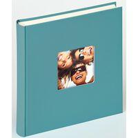 Walther Design Fotoalbum Fun 100 pagina's 30x30 cm petroleumgroen
