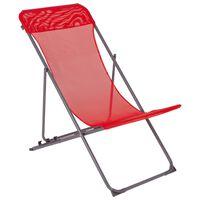 Bo-Camp Strandstoel Penco rood