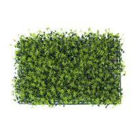 Kunsthaag - Kunstmat – Kunstplant – 60x40cm - Graswand – Decoratie –