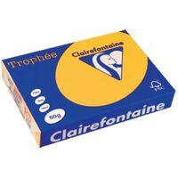 Clairefontaine Trophée Intens A4, 80 g, 500 vel, zonnebloemgeel