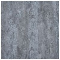 vidaXL Vloerplanken zelfklevend 5,11 m² PVC marmerpatroon grijs
