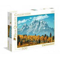 Clementoni legpuzzel High Quality Collection - Grand Teton 500 stukjes