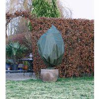 Winterafdekhoes met koord groen 50 cm x 100 cm Nature