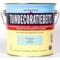Tuindecoratiebeits 714 aqua blue 2500 ml