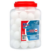 Get & Go Tafeltennisballen 60 st ABS wit