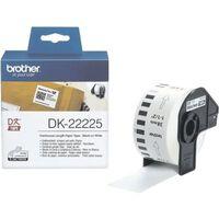 Brother DK-22225 Etiket Zwart op wit (38  mm)