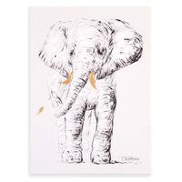CHILDHOME Olieverfschilderij 30x40 cm olifant