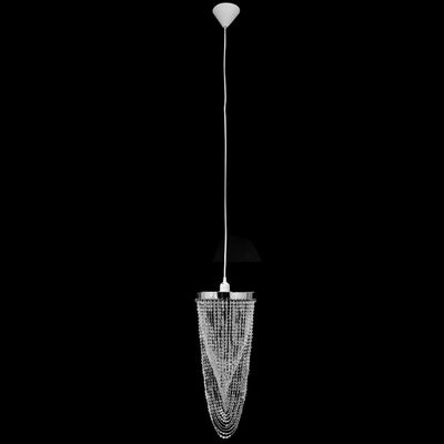 Kroonluchter met kristallen 22 x 58 cm