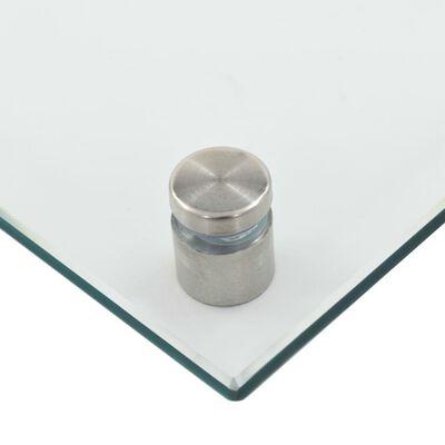 vidaXL Spatscherm keuken 120x60 cm gehard glas transparant