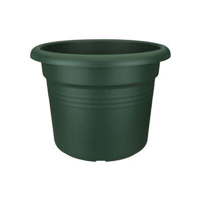 3 stuks Bloempot Green basics cilinder 40cm blad groen elho