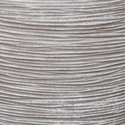 Capi Bloempot Nature Rib 54x52 cm ivoorkleurig KOFI935
