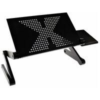 United Entertainment Laptopstandaard multifunctioneel zwart