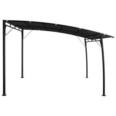 vidaXL Zonneluifel 3x3x2,55 m antracietkleurig