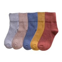 Warme sokken in vintage stijl 65% katoen 35-42