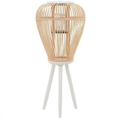 vidaXL Lantaarnhouder vrijstaand bamboe naturel