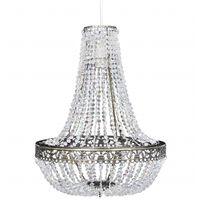 vidaXL Kroonluchter kristal-look 36,5x46 cm