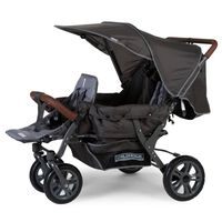 CHILDHOME Drielingbuggy antraciet